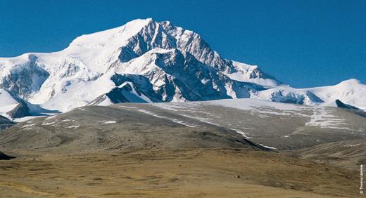 Shisha Pangma von Norden
