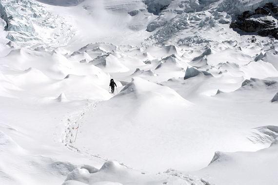 verschneiter-eisbruch-beim-abstieg